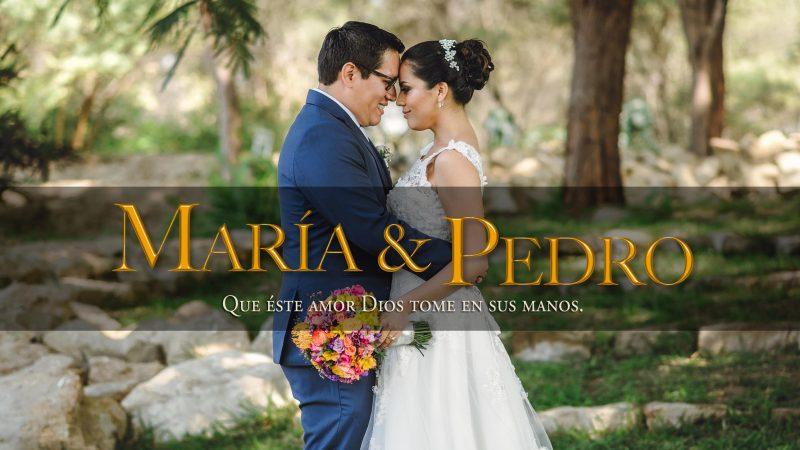 Boda María y Pedro en Piura Video
